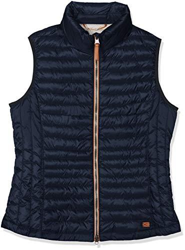 camel active Womenswear Damen 9X44 Weste, Blau (Navy 43), (Herstellergröße:42)
