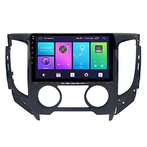 Nav Android 9.0 Car Stereo Unidad principal de doble Din Compatible Mitsubishi Triton 2015-2019 Navegación GPS 9 pulgadas MP5 Reproductor multimedia Radio Video Receptor Rastreador 4G WIFI DSP Mirror