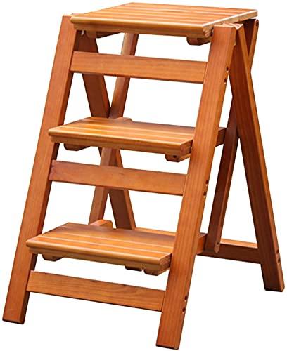 MUZIDP Taburete plegable para niños pequeños con 3 pasos para la cocina o la oficina, el hogar portátil, multiuso, escalera, escalera, carga máxima de 200 kg