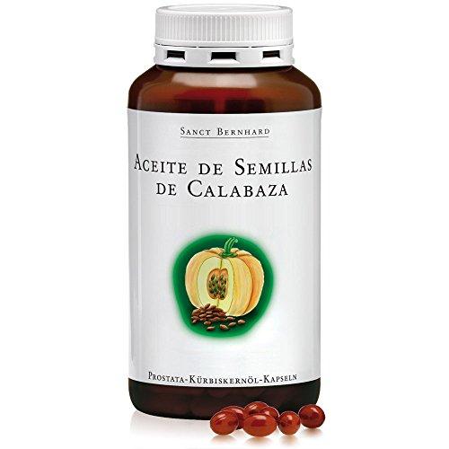 Aceite de Semillas de Calabaza 500mg - 400 Cápsulas