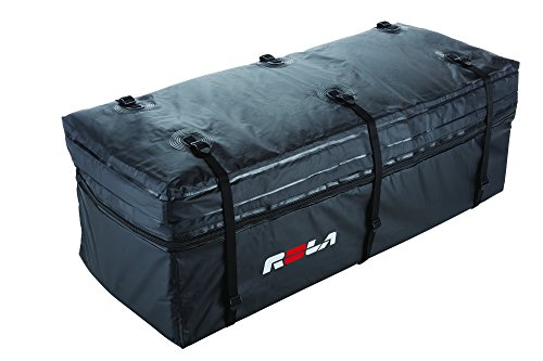 ROLA 59102 Wallaroo Cargo Bag, Rainproof, Expandable Hitch Tray Carrier,Black