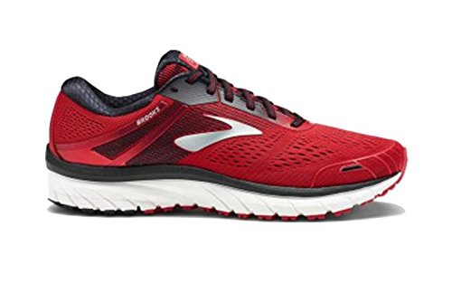Brooks Adrenaline GTS 18 (Red/Black/Silver, Numeric_8_Point_5)