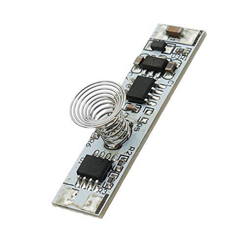 Módulo electrónico Interruptor de CC 9V a 24V táctil controlador de iluminación Módulo de control del módulo del sensor del tacto LED de atenuación capacitiva 10pcs Equipo electrónico de alta precisió