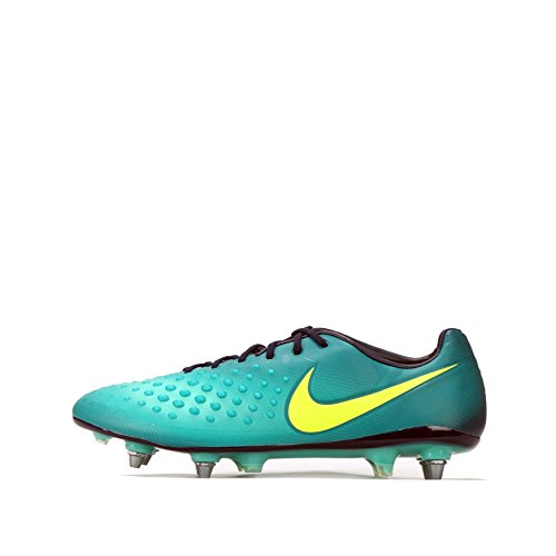 Nike Magista Opus II SG-Pro Mens Football Boots 844597 Sneakers Shoes (US 8.5, Rio Teal Obsidian Jade 376)