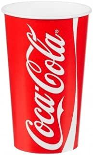 Coca-Cola 100 X Cups & Lids Official Brand 16Oz