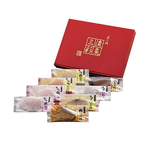 漬魚三彩 粕漬け 西京漬け 味噌漬け 油漬け カジキマグロ キハダマグロ さわら TUS40S