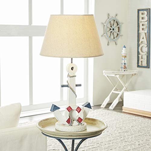 "Deco 79 28755 Wood Anchor Table lamp 23"" H -"