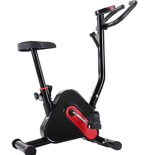 AMBM Heimtrainer Fahrrad,Hometrainer,faltbares Standfahrrad Sportgerät,7 Widerstandsstufen für Zuhause Büro Training