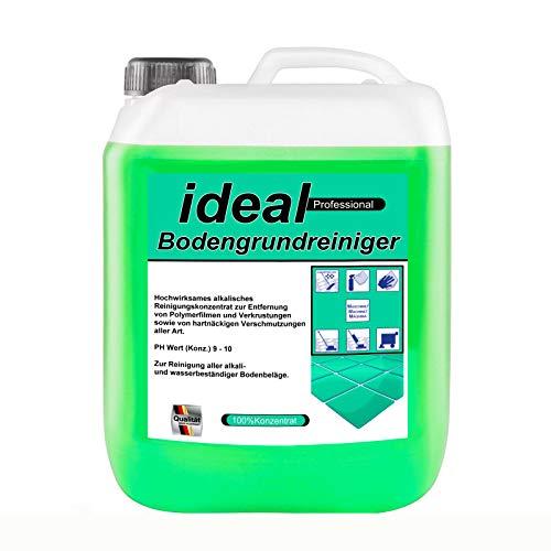 5 Liter ideal Bodenreiniger für Industrie und Privat. Grundreiniger Allzweckreiniger - für alle gängigen Hochdruck-Reiniger mit Reinigungsmittel Einspeisung geeignet