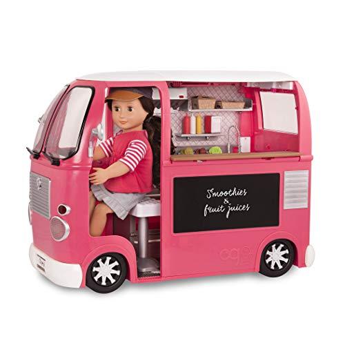 Our Generation- Food Truck Rosa, Color (Battat BD37969Z)