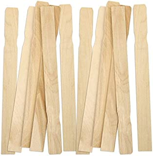 12 Inch Wood Paint Stir Sticks (100 Pack)