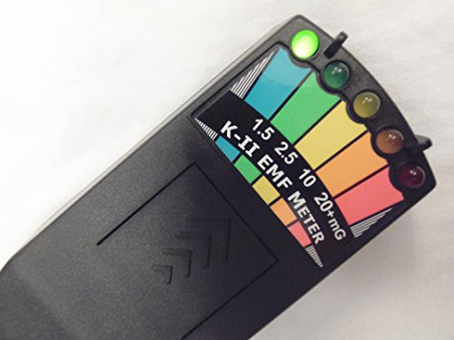 Cazafantasmas K2EMF Meter negro
