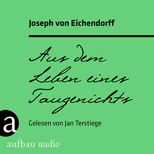 Aus dem Leben eines Taugenichts audiobook cover art