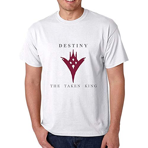 Destiny The Taken King Logo For Men T-Shirt White M