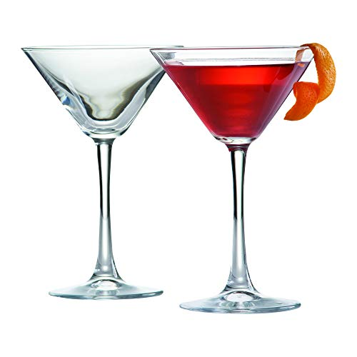Ravenhead - Set di 2 bicchieri da cocktail, 20 cl, colore: trasparente