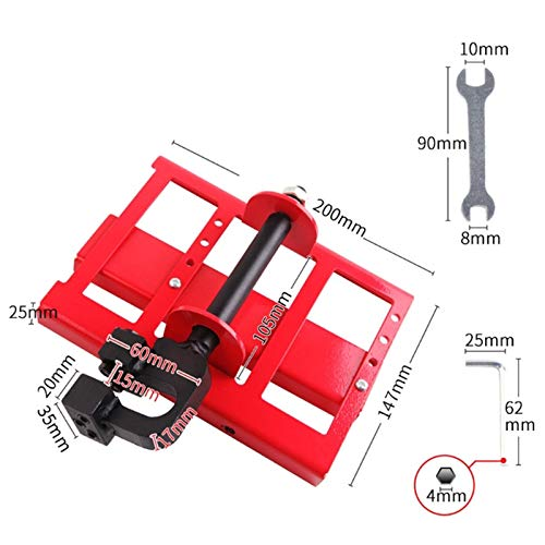 BGTOOL Chainsaw Mini Mill Lumber Cutting Guide Saw Steel Timber Chainsaw Attachment Sawmill Cut Guided Mill Wood Parts