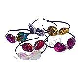 VAGHBHATT Multi-Coloured Baby Girl Kids Hairband Headbands Elastic Hair Accessory Set 6