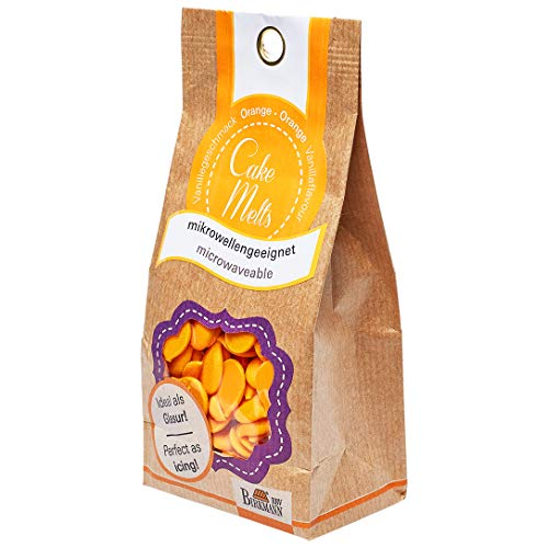 RBV Birkmann, 504189, Cake Melts, orange, 250 g Beutel