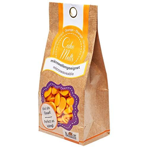 RBV Birkmann, 504189, Cake Melts, orange, 250 g Beutel