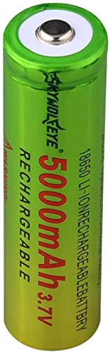 3.7V 5000mAh 18650 batería de Carga de Litio baterías Recargables Li Ion Cell para Linterna 1PC