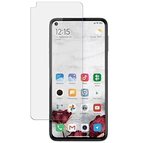 disGuard Protector de pantalla para Xiaomi Redmi Note 9 5G [2 unidades] antirreflectante, mate, cristal templado, alta dureza, antirreflectante
