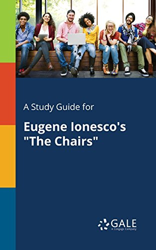 A Study Guide for Eugene Ionesco's 'The Chairs' (Drama For Students) (English Edition)