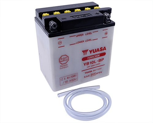 Batterie YUASA–yb10l-bp für Piaggio X8Street, Premium (Euro 2) 125ccm