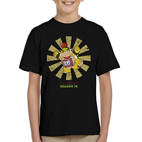 Cloud City 7 Bowser Jr Retro Japanese Super Mario Kid's T-Shirt