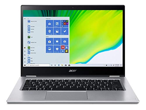 Acer Spin 3 - 14' Laptop Intel Core i7-1065G7 1.3GHz 8GB Ram 512GB SSD Win10Home (Renewed)