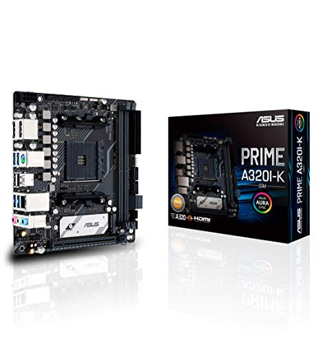 ASUS Prime A320I-K Mini-ITX Mainboard Sockel AM4 USB3.0/M.2/DP/HDMI
