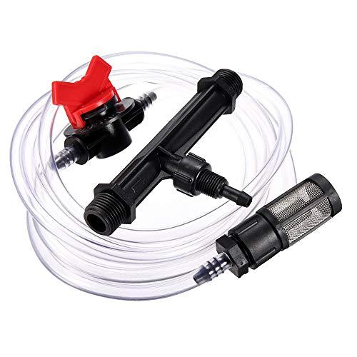G1 / 2 G3 / 4 Irrigation Fertilizer Injector Venturi Filter Injector Auto-Mix Transluzente Kits Irrigation Venturirohr Gewächshaus Tropfsystem (1/2)