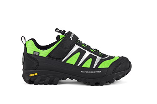 Spiuk Compass MTB - Zapatillas unisex, color negro / verde, talla 47