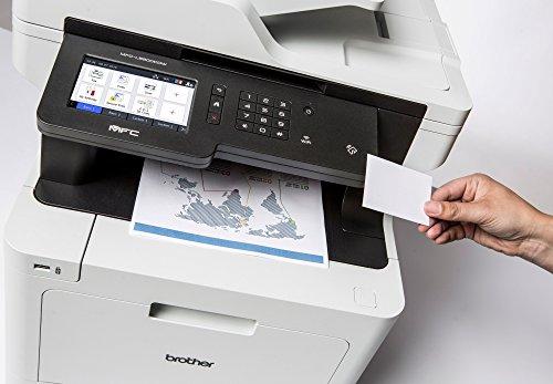 Brother MFC de L890L8650CDW Profesional 4en 1Láser de Color de Dispositivo multifunción (Impresora, escáner, fotocopiadora, fax) Blanco/Negro