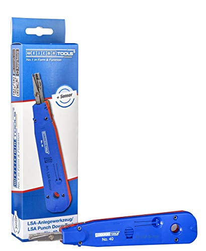 WEICON TOOLS LSA Sensor No. 40 | Anlegewerkzeug mit Sensor zur Beschaltung von LSA-Baureihen