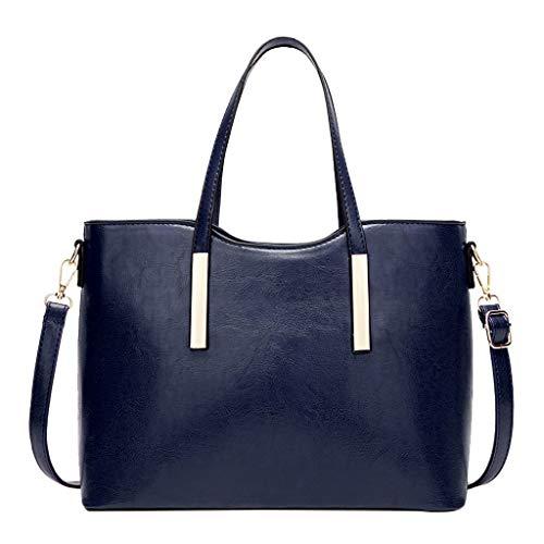 TianWlio Women Bags Bolsos de mano para mujer, clásicos, de piel sintética, de gran capacidad, para trabajo, viajes, para niñas