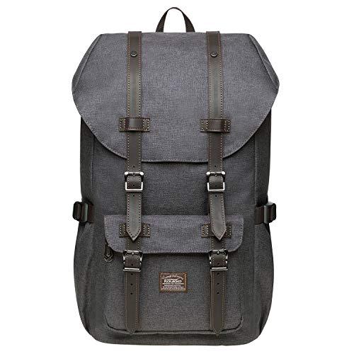 KAUKKO Rucksack Damen Herren Studenten 17 Zoll Backpack für 14