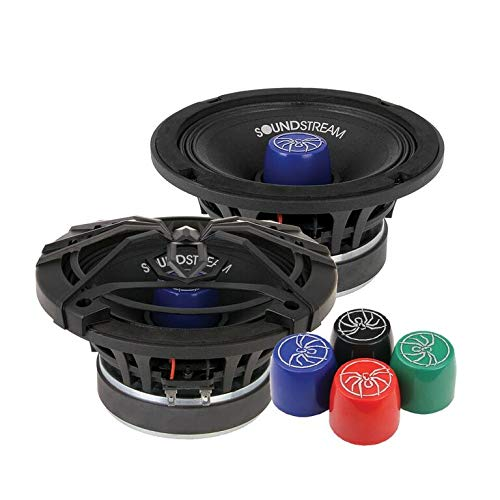 Check Out This Soundstream SM.650PRO 6.5 Inch 125 Watts RMS Pro Audio MID-Range Speakers PAIR 4 Ohm ...