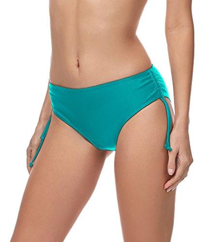 Merry Style Damen Bikini Slip MSVR2 (Türkis (7073), 40)