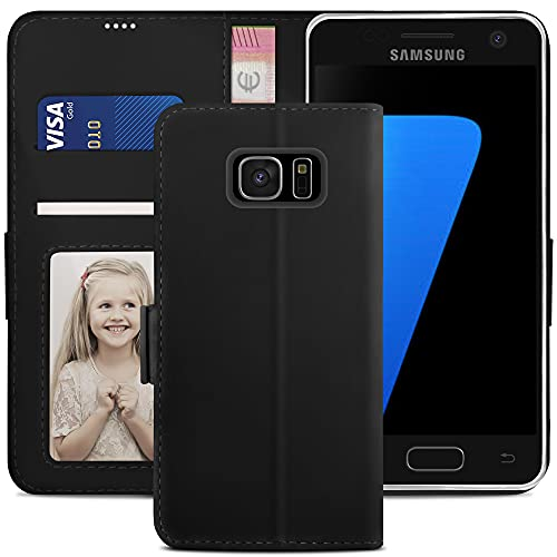 YATWIN Samsung Galaxy S7 Edge Case, Samsung S7 Edge Flip Wallet Leather...