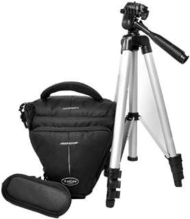 80d–Bolsa Bag Black Holster Large cámara con trípode de Viaje fotográfico para Canon EOS 1300d 1200d 760d 750d 700d Nikon D7200D610D500D5500D5300D3300D3200