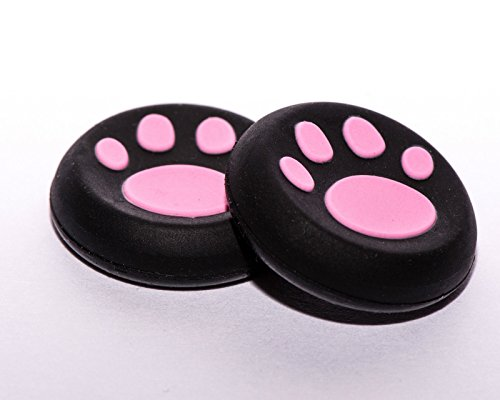 2 x Pink Controller Cap Cover Thumb Stick Grip For Sony PS4 PS3 PS2 Xbox One Xbox 360