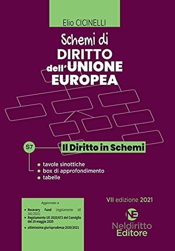 Schemi di diritto dell'Unione Europea. Nuova ediz.