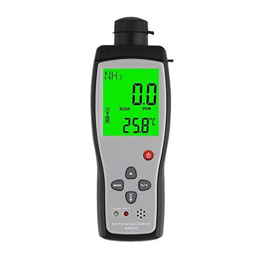 no-branded Ammoniakgas NH3-Detektor-Meter Prüfvorrichtung-Monitor Bereich 0-100 ppm Ton Licht Alarm Gasanalysatoren XXYHYQHJD (Color : AR8500, Size : Kostenlos)