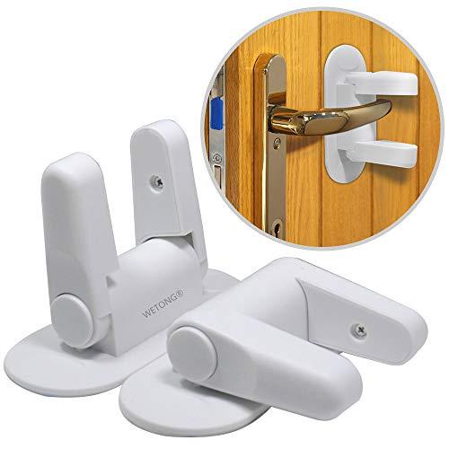 WETONG قفل الباب ليفت (2 حزمة) طفل