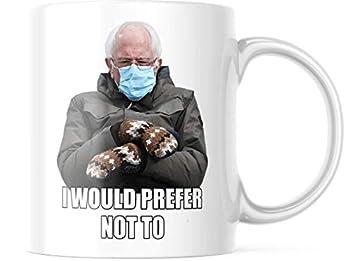 Bernie Mitten Mug - Bernie Sanders Mit Coffee Mug - Bernie Sanders Mitten Mug - Bernie Sanders Inauguration Mit Mug - Funny Gag Gift 11 oz Ceramic Mug  BMS012
