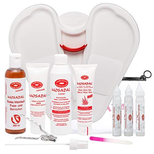 Mosadal® SUPER SET Hornhautentferner und Pflege für Hände und Füße
