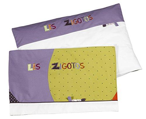 Collection Zigotos Sauthon Online JP161 borstbeddenset + kussensloop 60 x 40 cm voor bedden 120 x 60/140 x 70 cm