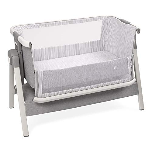 Bed Side Crib for Baby - Sleeper Bassinet Includes Travel Case, Mattress, Sheet, and Urine Pad - Keep Newborn Babies Close in Bed - Co Sleeping Bedside Bassinets by ComfyBumpy