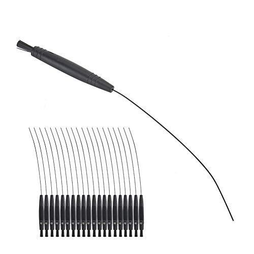 Hearing Aid Cleaning Kit 20pcs Portable And Practical Hearing Aid Cleaning Brush Hearing Aid Vent Cleaning Tool for Daily Hearing Aid Cleaning