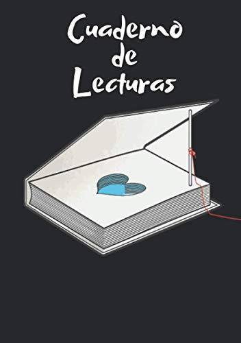 Cuaderno de lecturas: Diario Para Los Amantes de La Lectura que te permite llevar un seguimiento de tus libros leídos con sus 100 fichas para completar, Formato A5.